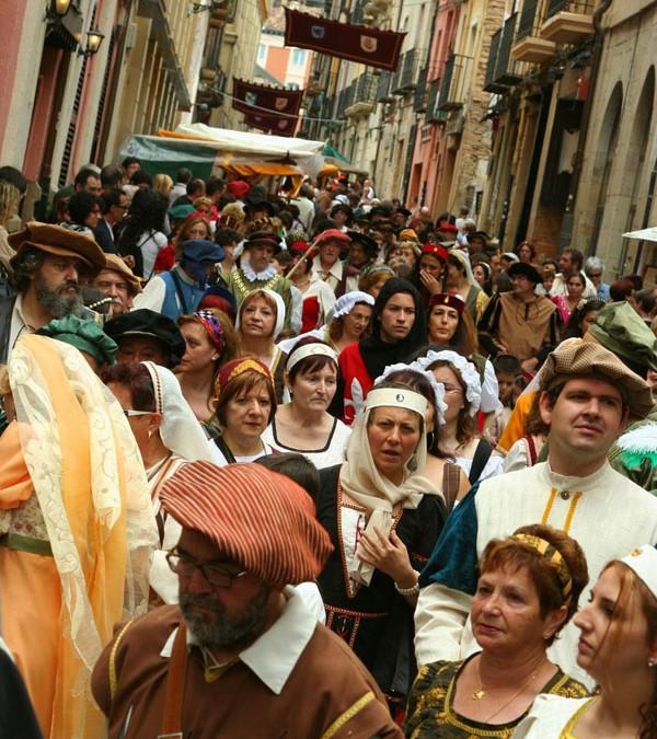 Panes, peces y fiesta en Logroño