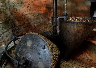 Ancient oil press
